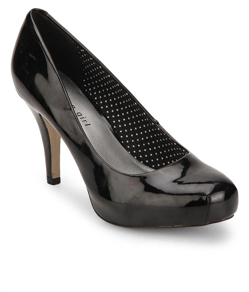 Steve Madden Getta Black Stiletto Heels