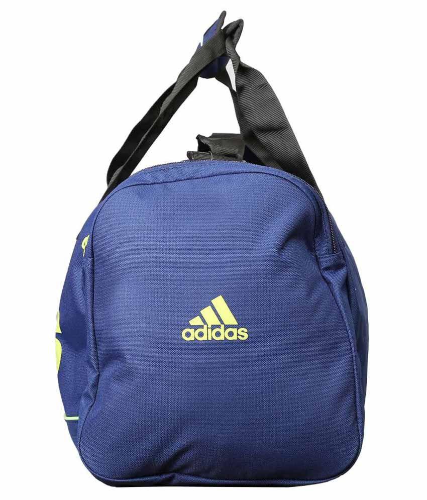 Adidas Blue Polyester Duffle Bag - Buy Adidas Blue Polyester Duffle ... 4488321da30ec