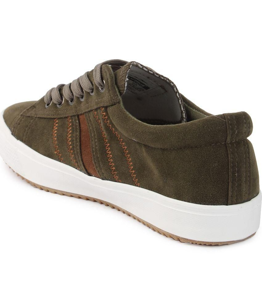 fa20a1bfbf6b86 COLUMBUS Green Sneaker Shoes - Buy COLUMBUS Green Sneaker Shoes ...