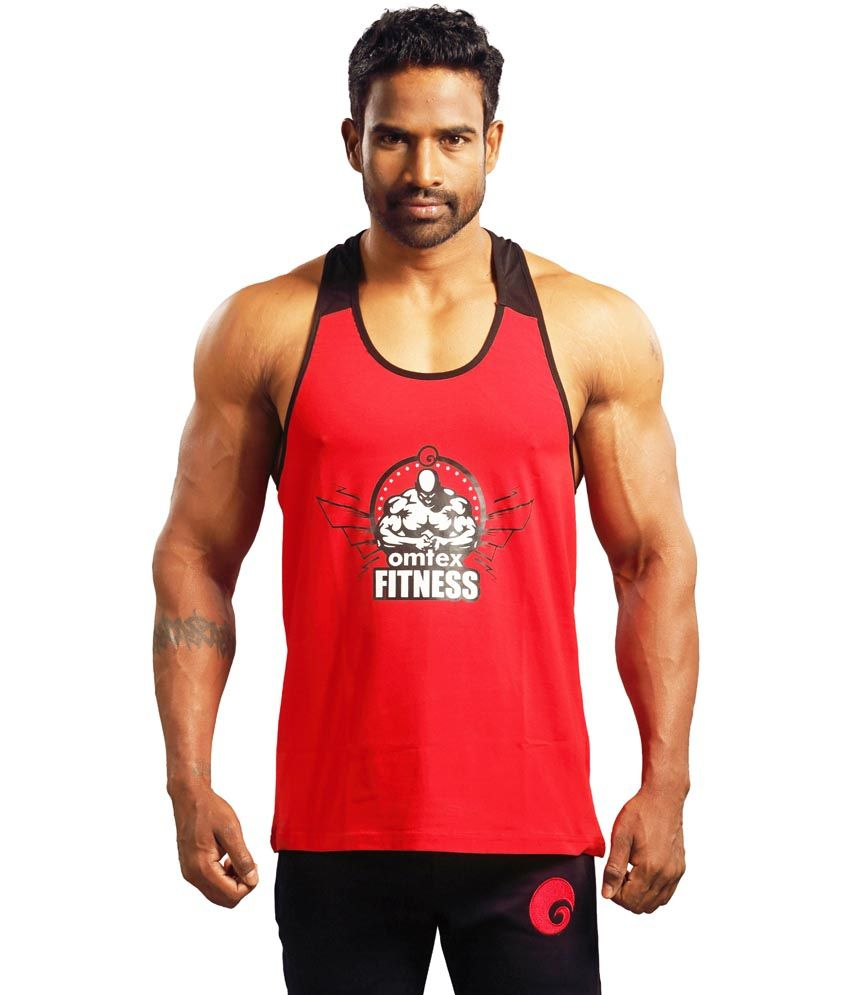Omtex Stringer Gym Vest