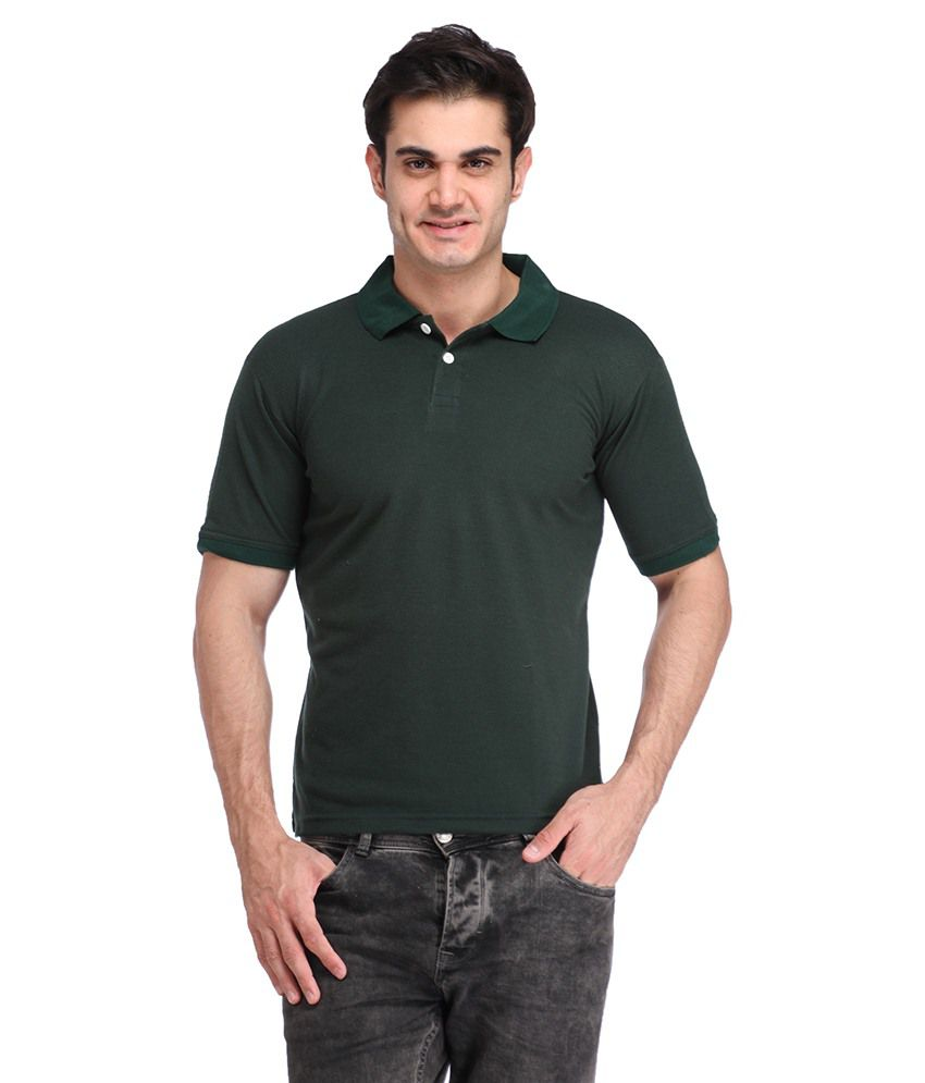 Big Idea Green Round T Shirts