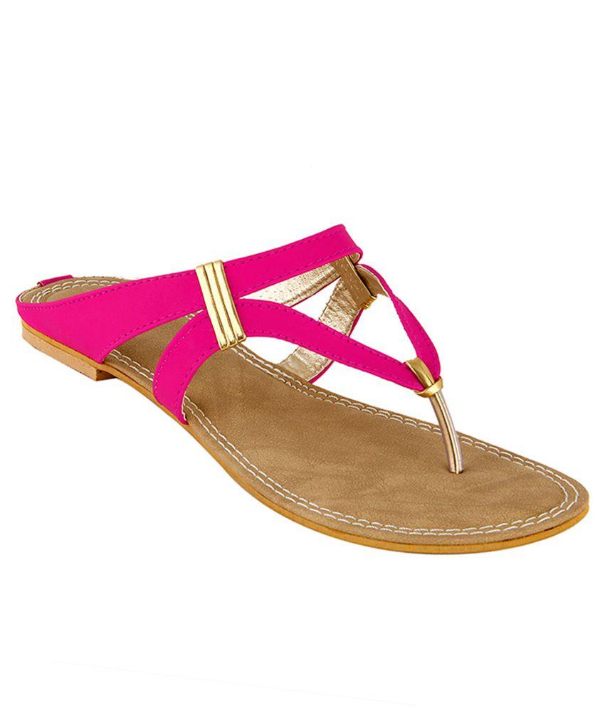 Tipcat Pink Flats