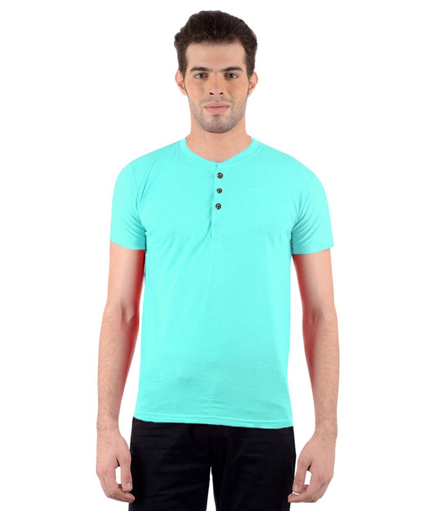 Gallop Blue Round T Shirts