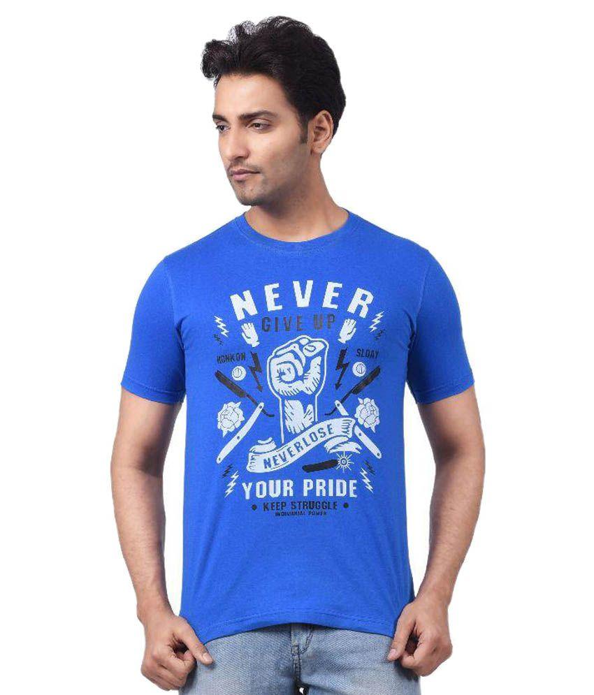 Regnum Blue Round T Shirts