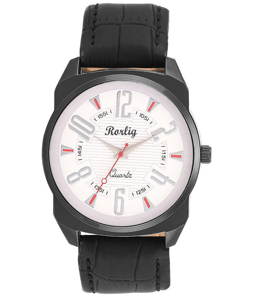 Rorlig Black Analog Watch