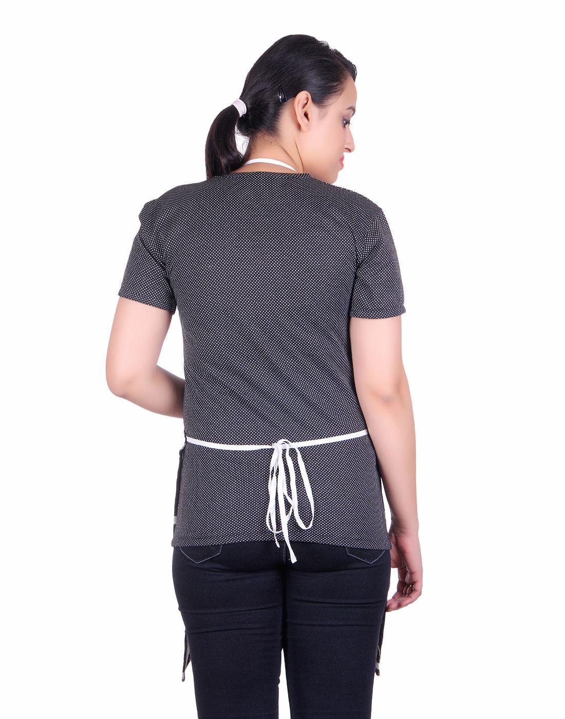 Buy white apron online -  Whyme Fashion Black And White Cotton Checks Kitchen Apron