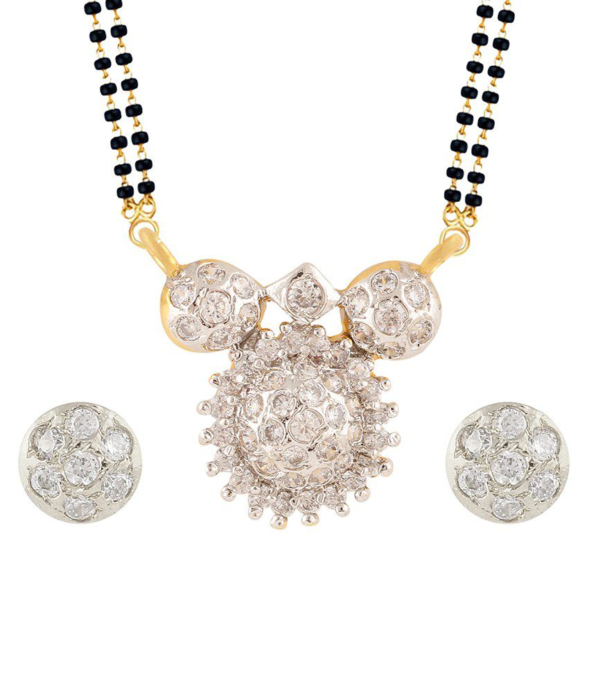 Archi Collection Glod Plated Mangalsutra Set