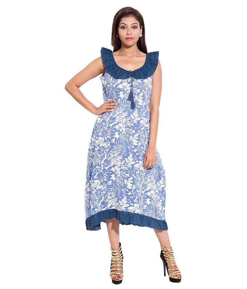 Buy Forever9teen Blue Cotton Nighty Online at Best Prices in India -  Snapdeal 481ac4458