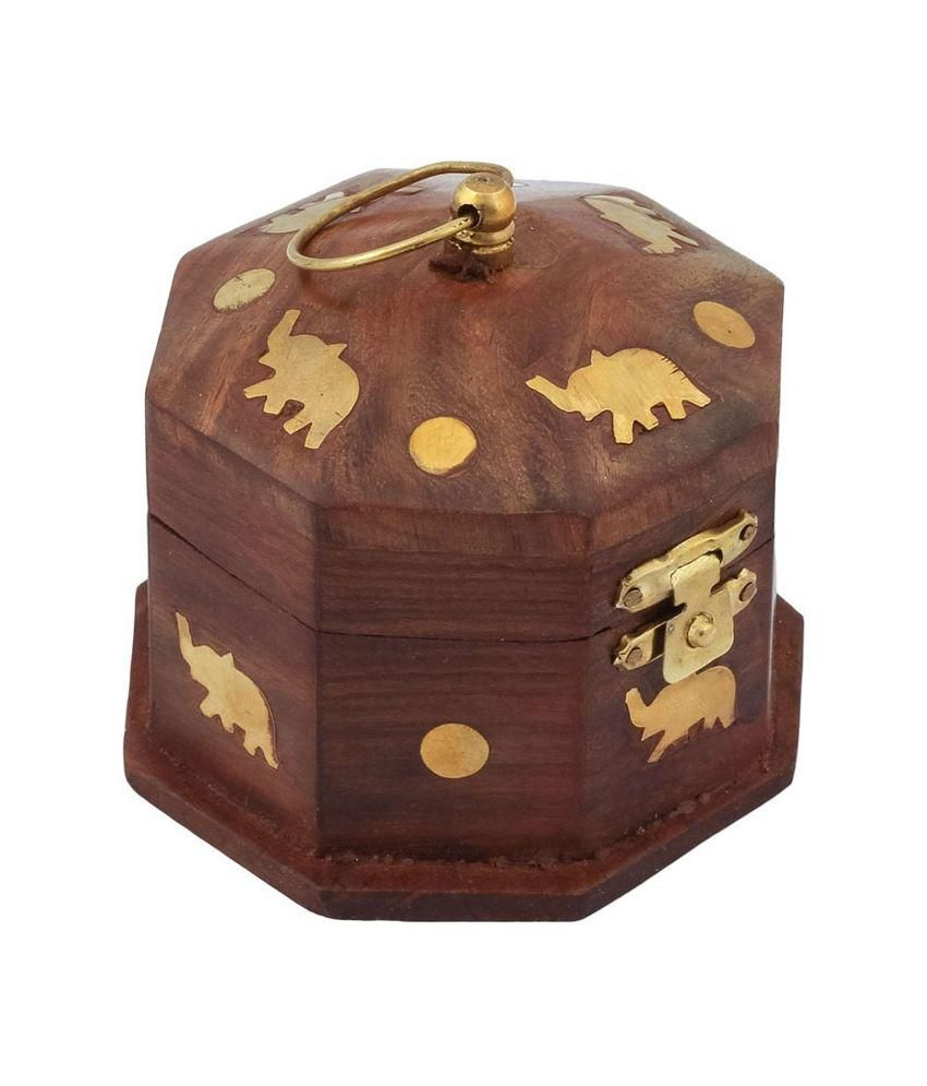 Zitter Wooden Jewellery Box