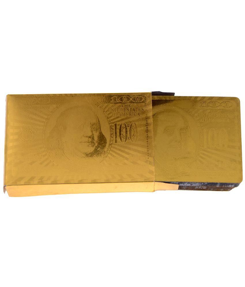 Kaushal Creation 24 K Gold Plated Playing Cards