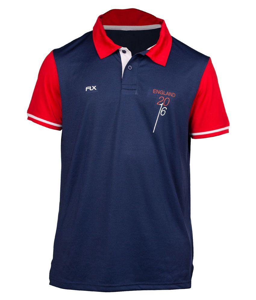 FLX Cricket World T20 England T-Shirt By Decathlon