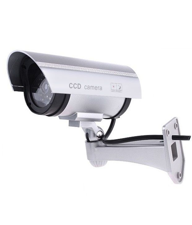 Inovera Fake Security Camera-Silver