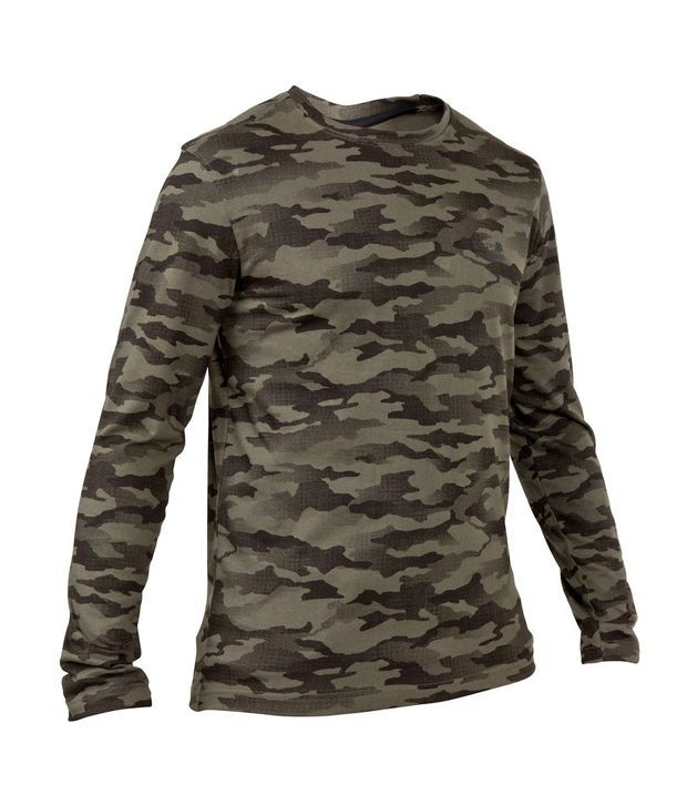 SOLOGNAC Steppe 100 LS T-Shirt Halftone