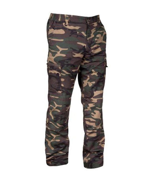 SOLOGNAC Steppe 300 Trouser Camo Green