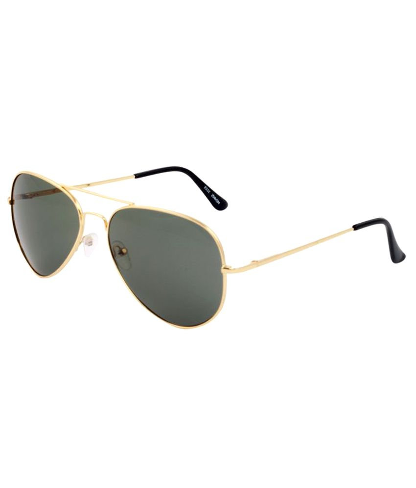 Caricature Black Aviator Sunglasses