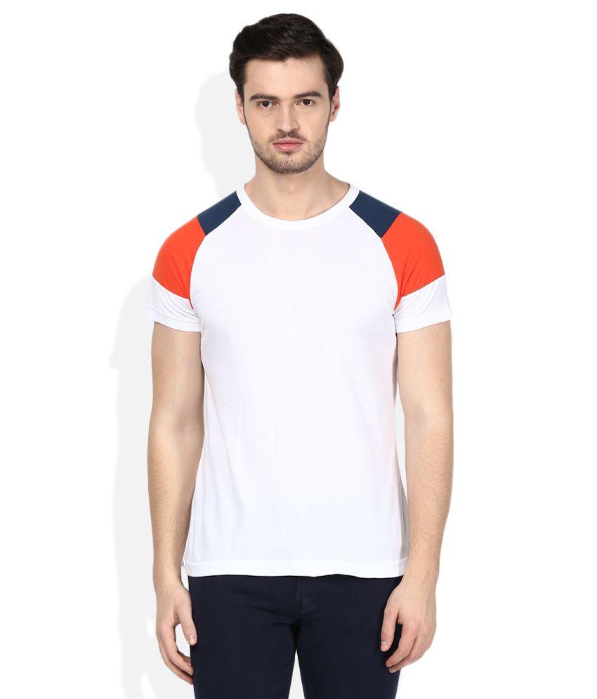 FCUK Navy Round Neck T-Shirt