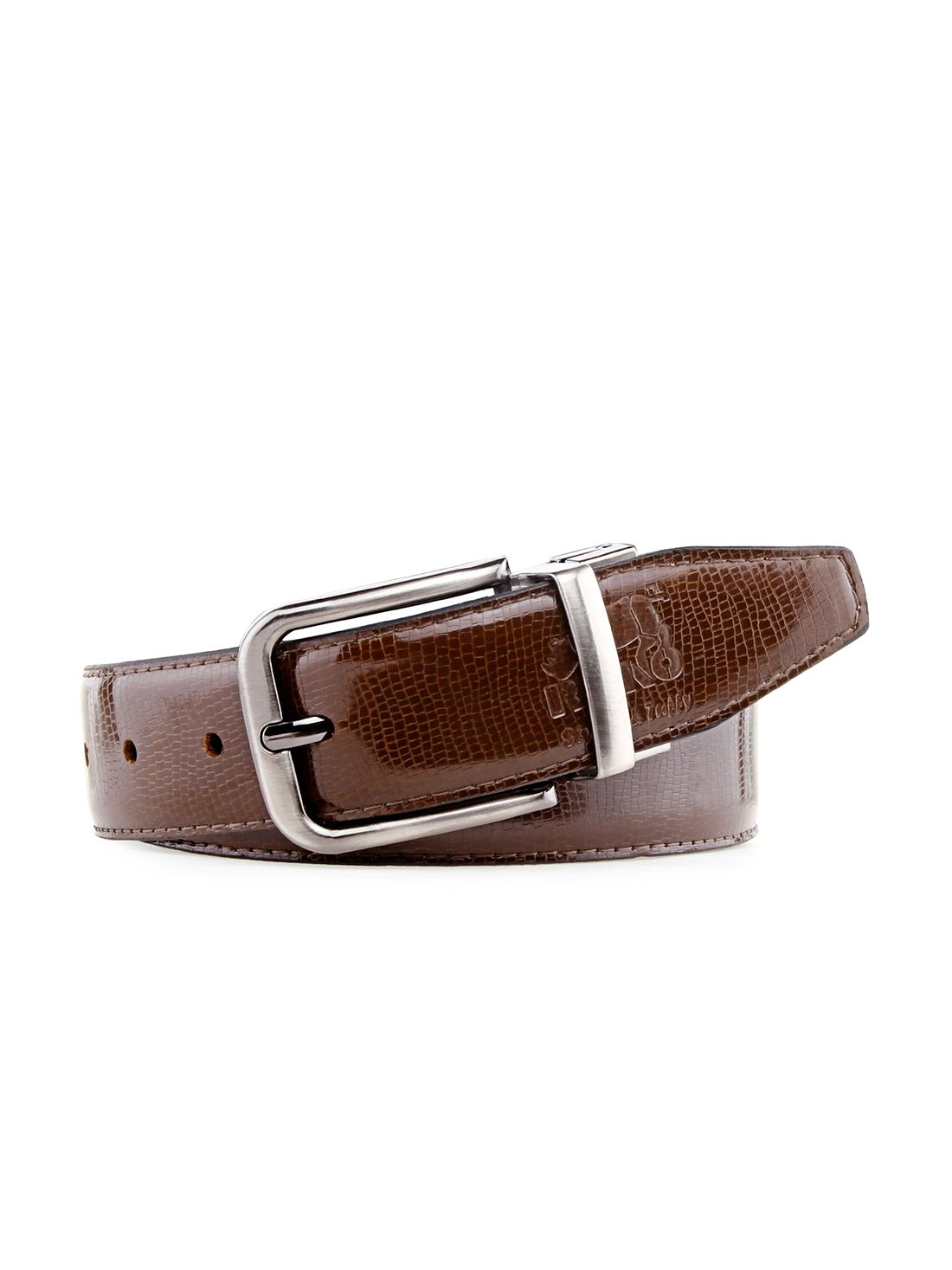 Rhino Brown Formal Belt For Men