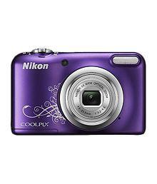 Nikon Coolpix A10 16.1 MP Digital Camera - Purple