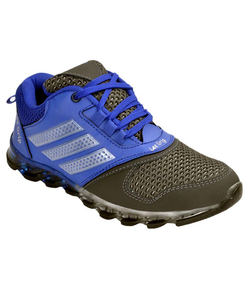 Lee Grip Blue Running Shoes