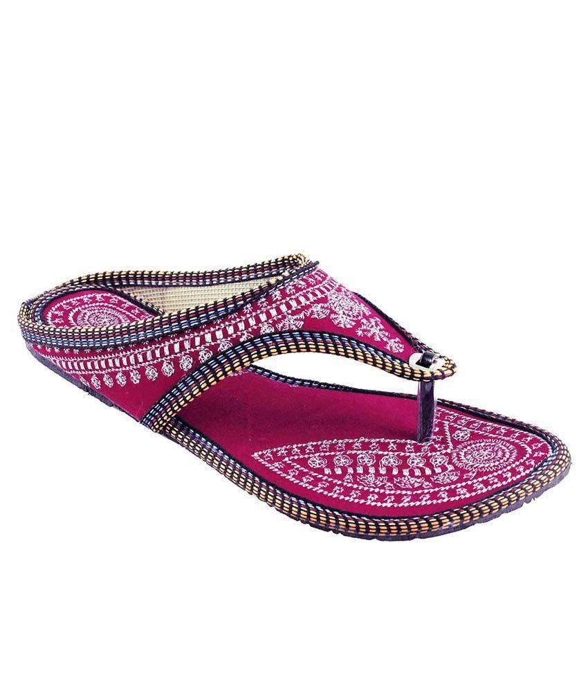 Fans Footcraft Pink Flats