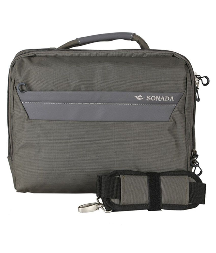 Premium Sonada Grey Messenger Bag