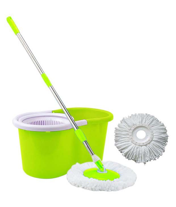 Apic Easy Mop Degree Rotating Bucket And Dual Spinner Color Per Availability Buy
