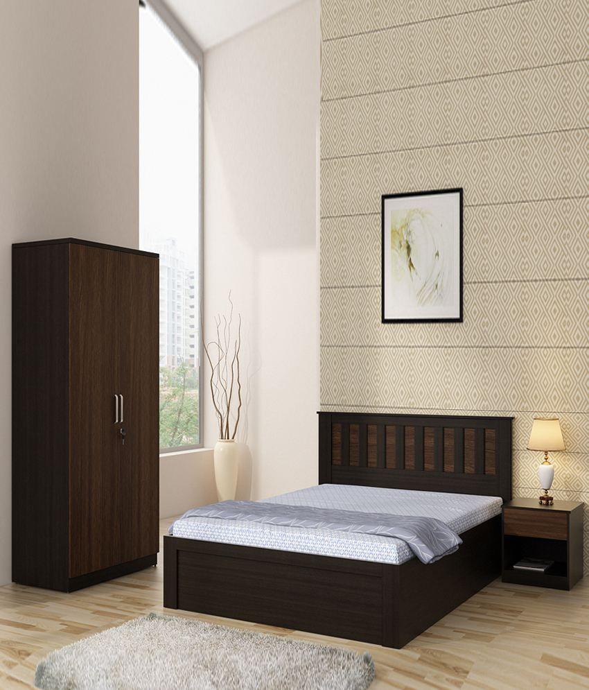 spacewood phoenix bedroom set best price in india on 31st july 2017