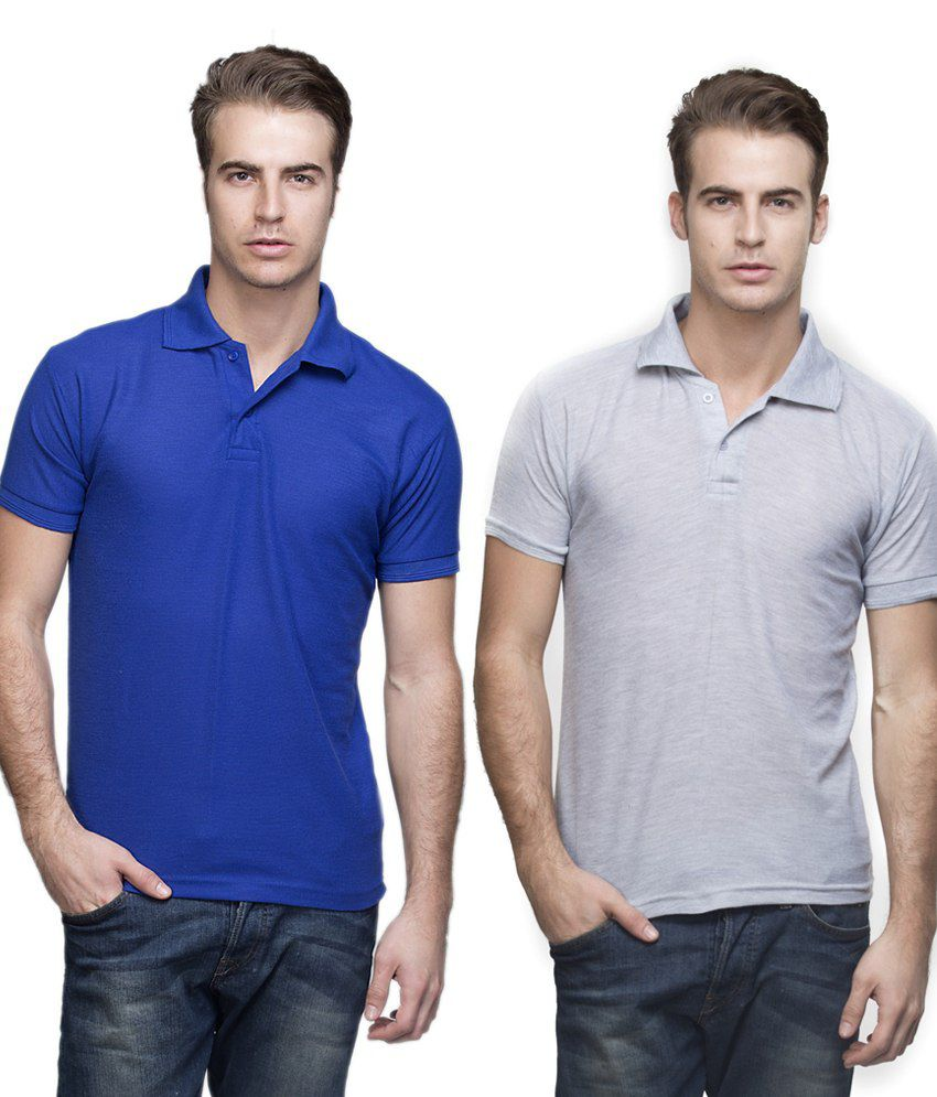 Emblazon Multi V-Neck T Shirts