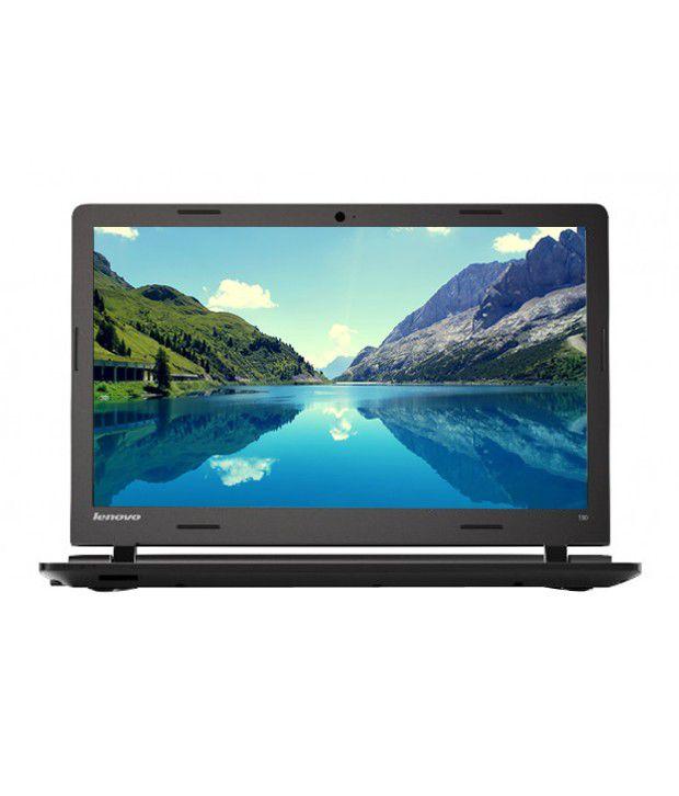 Lenovo Ideapad 100 Notebook (80MJ00MTIH) (Intel Pentium- 4GB RAM- 500GB HDD- 39.62 cm(15.6)- DOS) (Black)