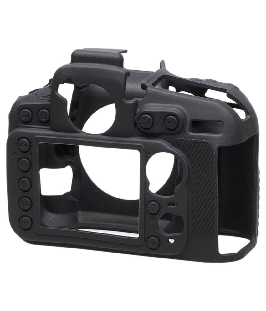 Easycover Black Silicone Protective Camera Case For Nikon D810