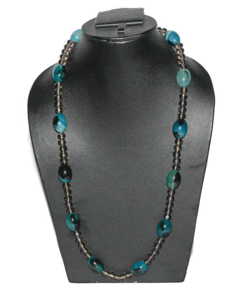 KCJ 18Kt Agate Semi Precious Gems Necklace