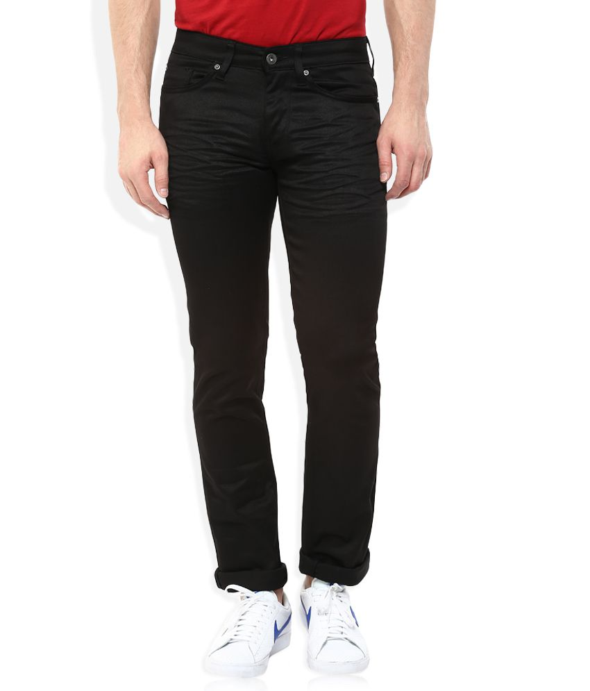 Celio Black Regular Fit Jeans