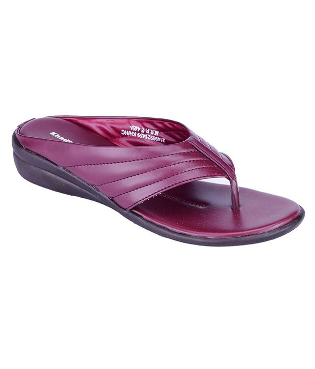 Khadim's Maroon Wedges Heels footlocker finishline cheap price clearance best place sale cost reliable for sale sast qgMDMM5