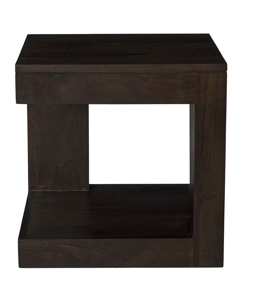 Ramayan Exim Tolams Solid Wood Side Table