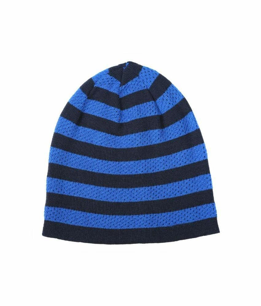 235ea052 Reebok Black and Blue Beanies Cap for Women: Buy Online at Low Price in  India - Snapdeal