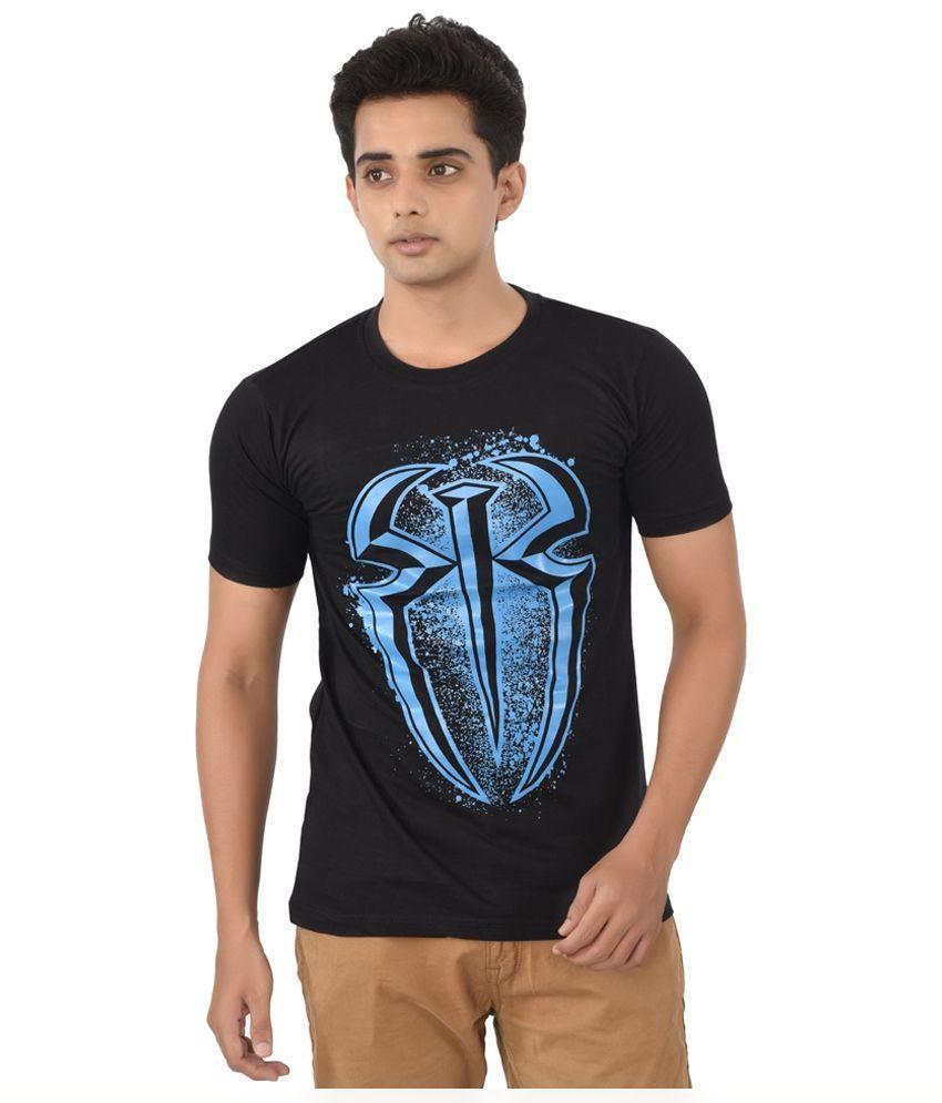 iLyk Black Round T Shirt