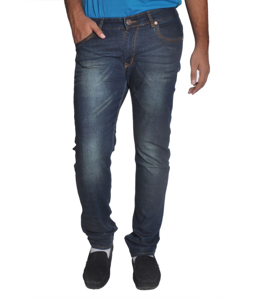 Levi's Navy Skinny Fit Faded Jeans