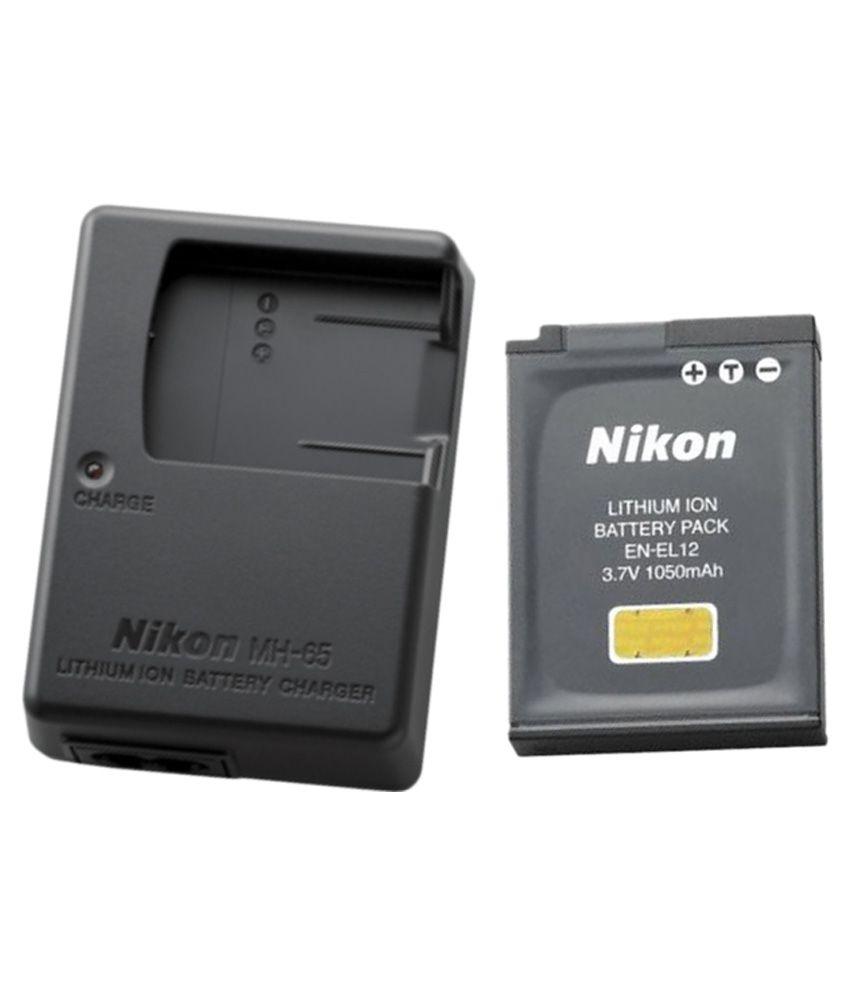 Nikon EN EL12 1050 mAh Camera Battery Charger