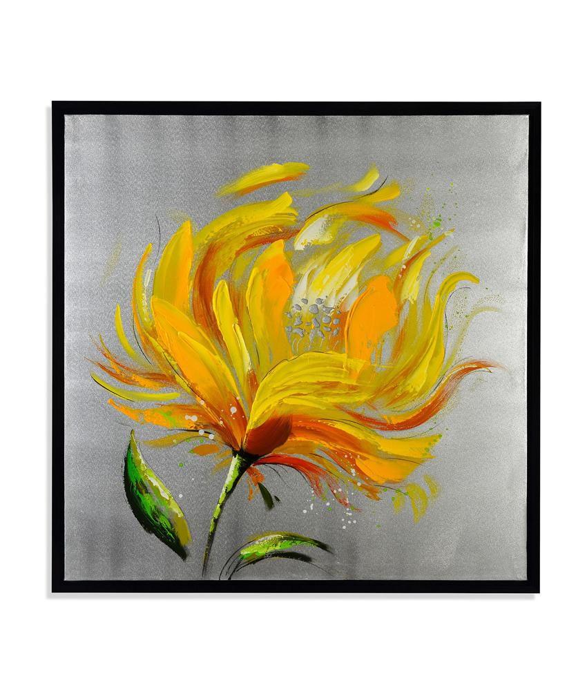 Nilkamal Yellow Flower Canvas Painting