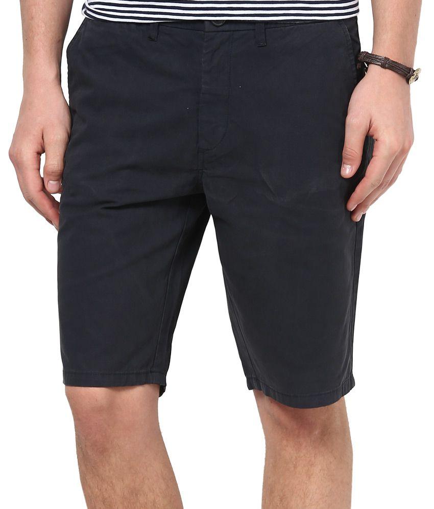Jack & Jones Navy Solids Shorts