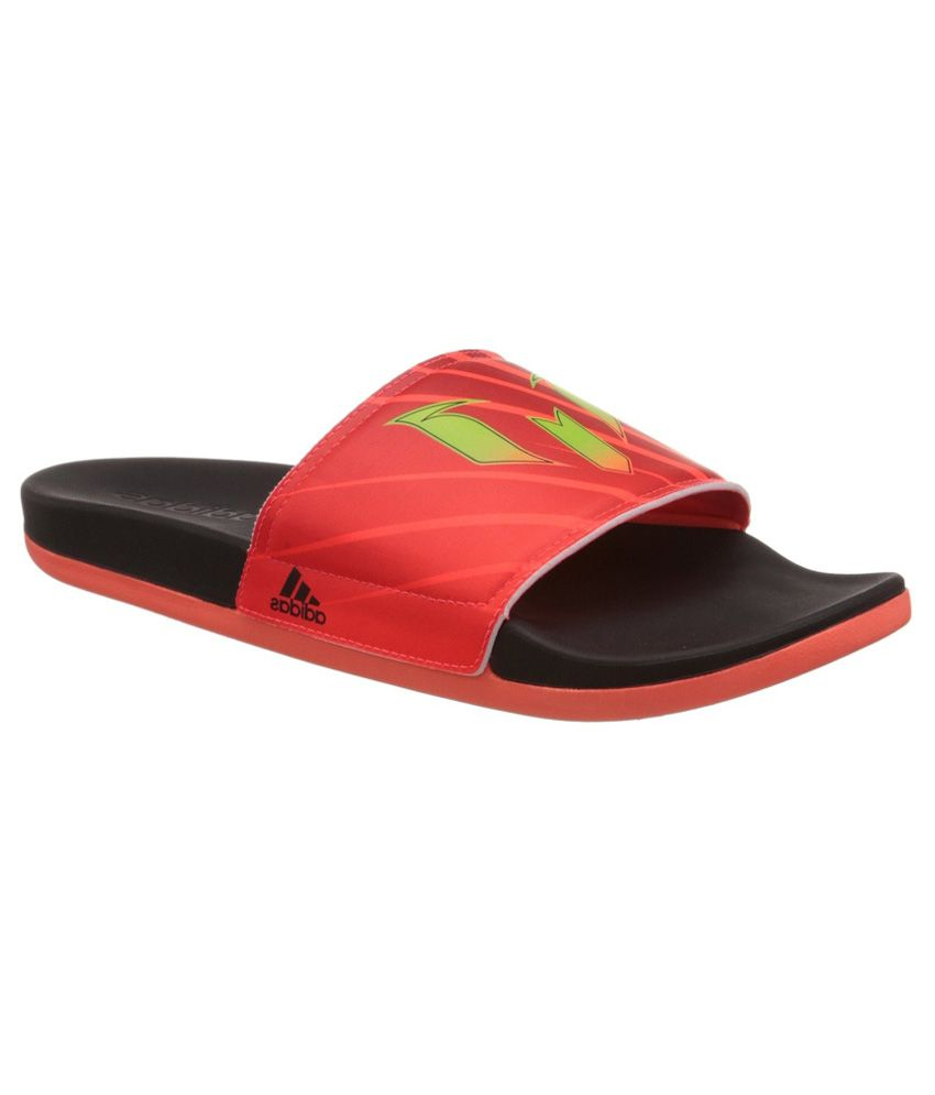 3320070a9 adidas Adilette Messi M Flip-Flops and House Slippers Price in India- Buy adidas  Adilette Messi M Flip-Flops and House Slippers Online at Snapdeal