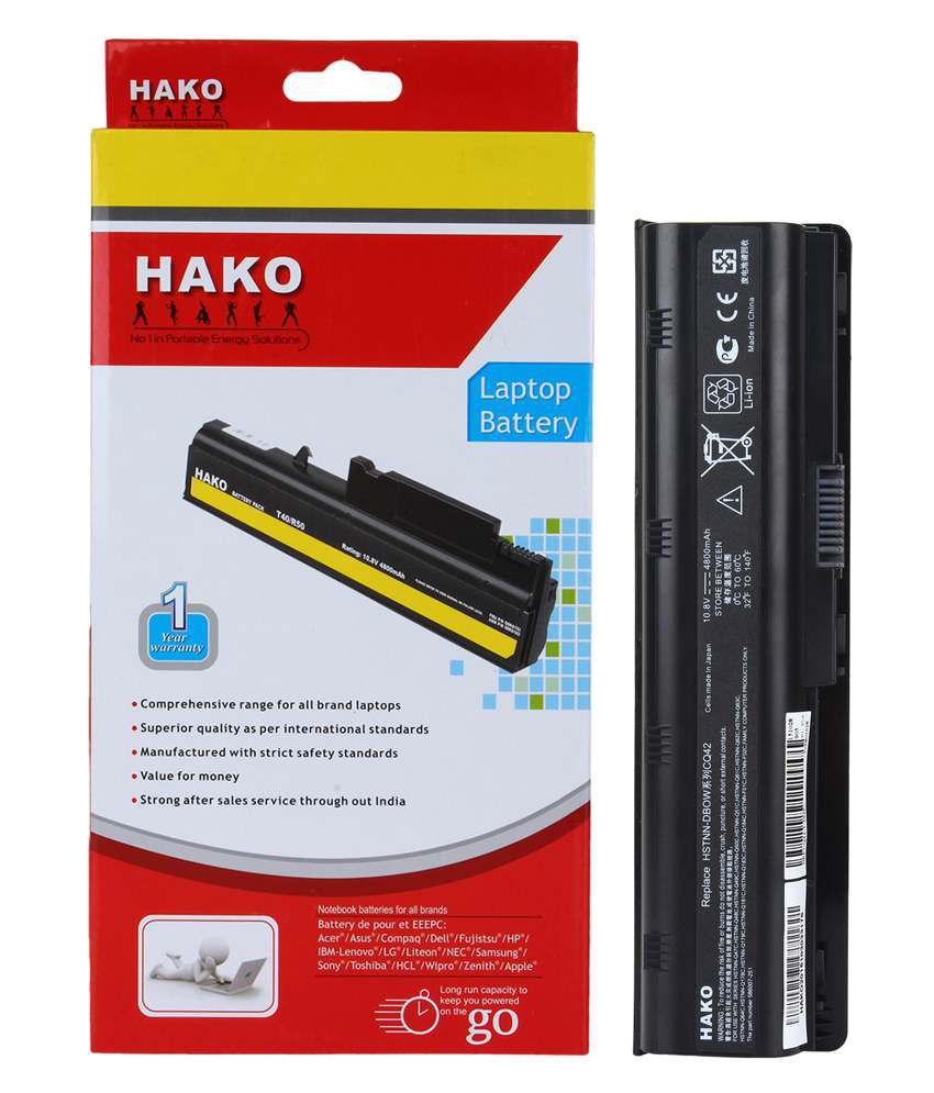Hako Hp Compaq Pavilion G6-2160sc 6 Cell Laptop Battery