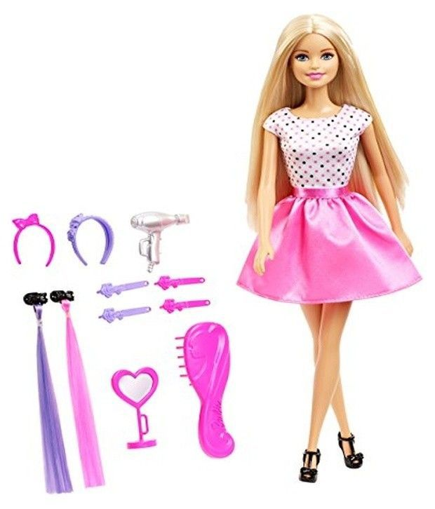Barbie Doll With Hair Accessory - Buy Barbie Doll With Hair ...