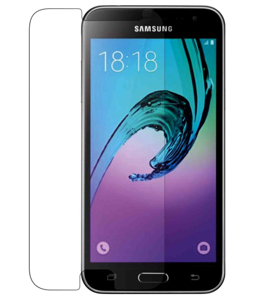 Samsung Galaxy j3 Tempered Glass Screen Guard by Knotyy