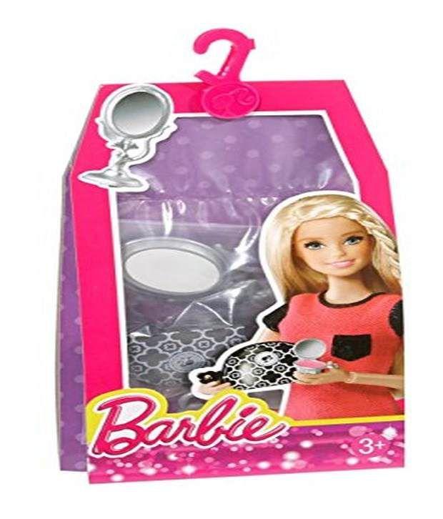 mattel barbie doll house makeup beauty set accessory pack buy rh snapdeal com