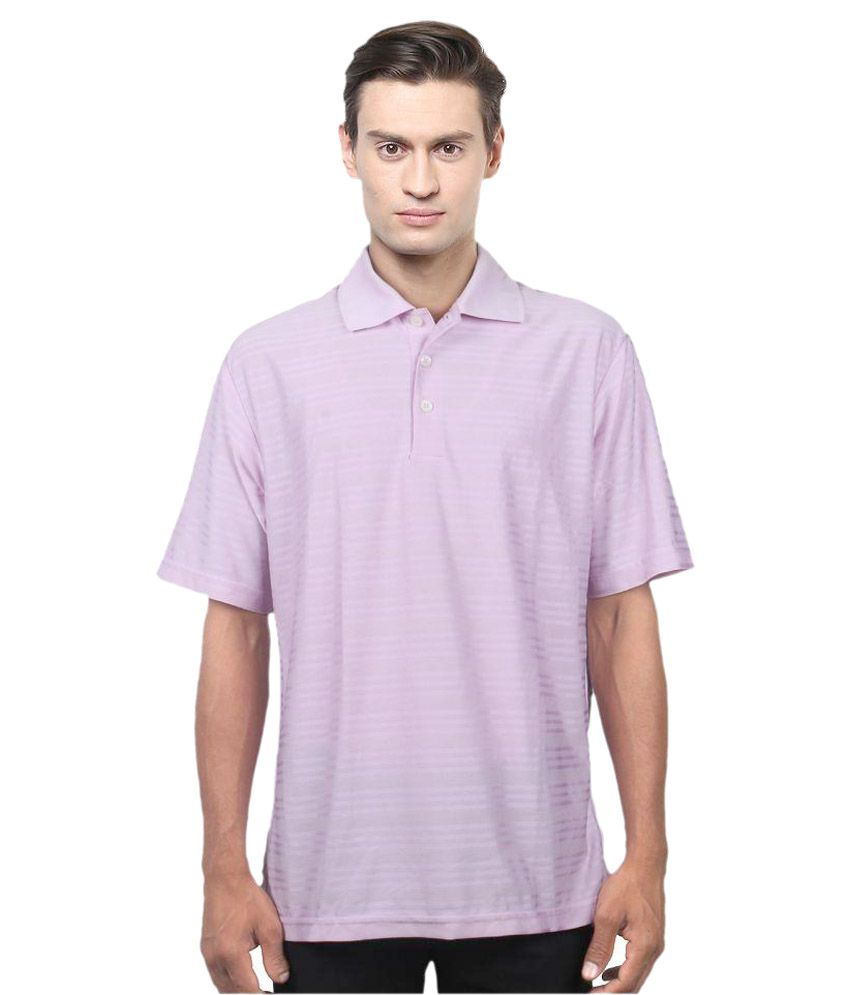 Adidas Pink Polo T Shirts