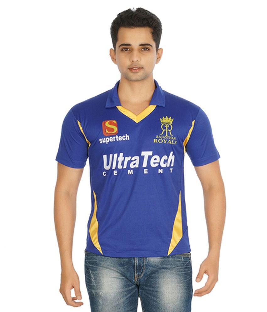 Rajasthan Team Cricket Jersey