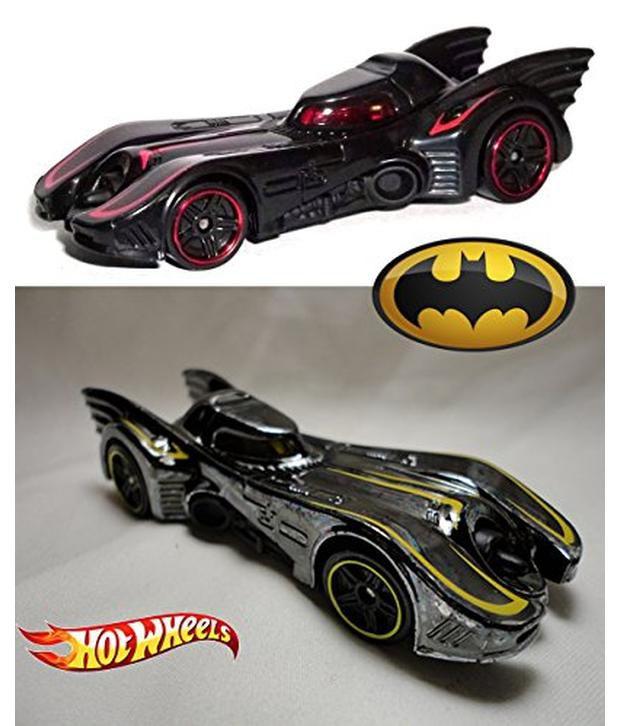 batmobile hot wheels 2015 movie car set batman black chrome 62 rh snapdeal com