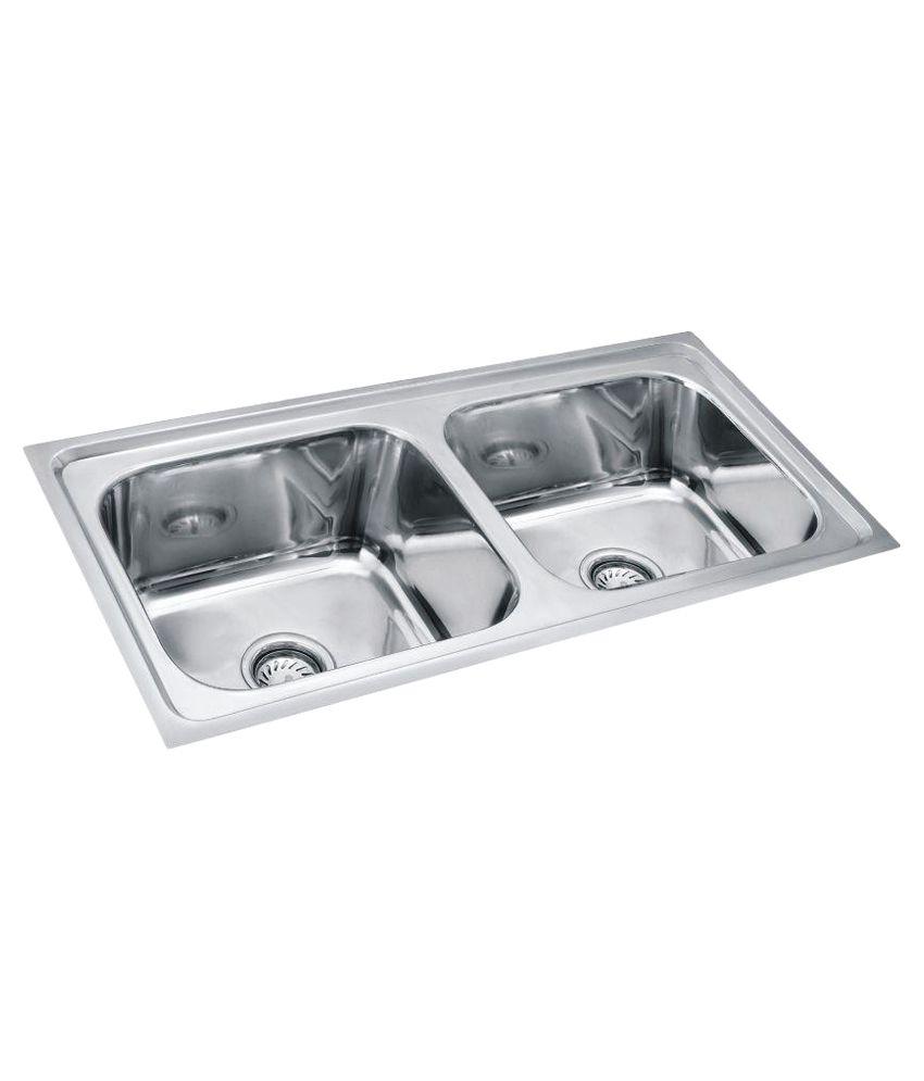Silverline Stainless Steel Kitchen Sink Buy Silverline