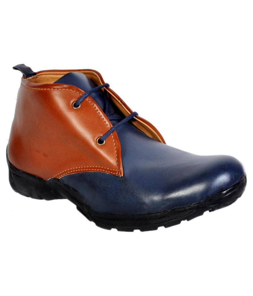 Urban Woods Navy Boots